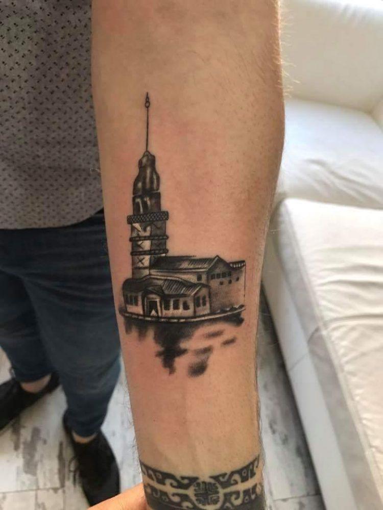 Kız Kulesi Dövmesi